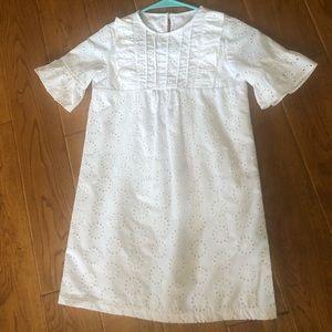 Girls White Dress, Kelly's Kids